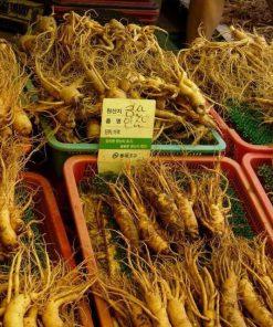 Nhân Sâm Hàn Quốc loại 8 củ 1 kg - Gía 2,2 Triệu - Đại Lý Yến